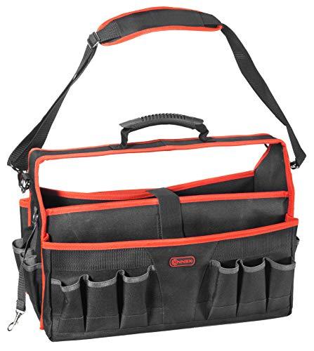 Connex Werkzeugtasche 510 mm - Viele Aufbewahrungsfächer - Unbestückt - Stabiler...
