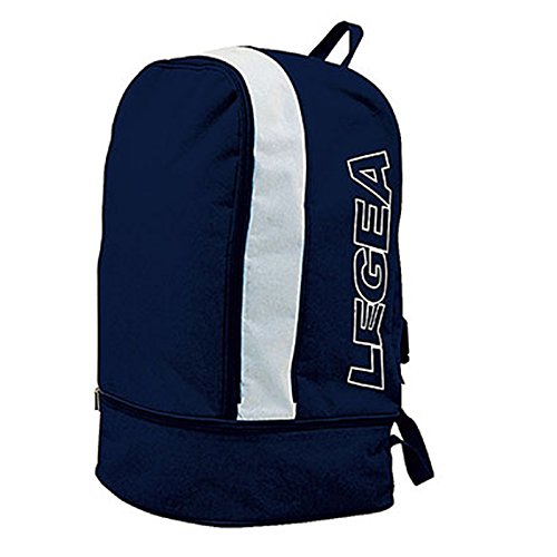 LEGEA Zaino Macerata,Unisex, Blu, 35 x 55 x 30 cm