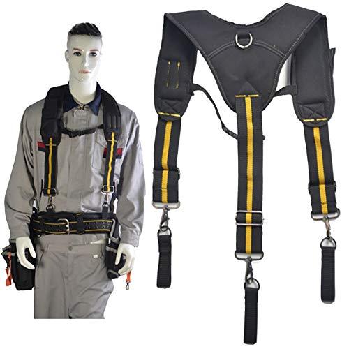 fgfh La eslinga de herramientas en forma de Y puede colgar la bolsa de herramientas, reducir el peso