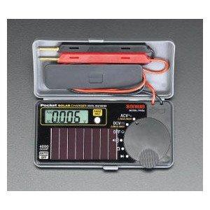 エスコ ポケットデジタルテスター EA707D-33