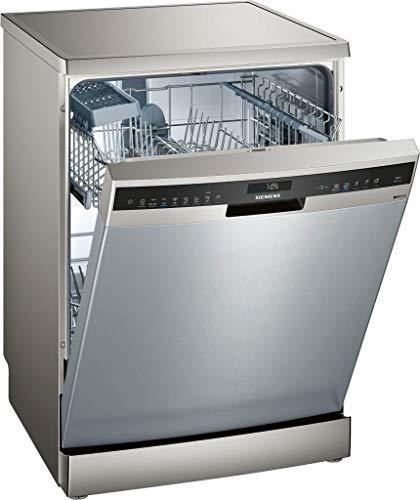 Siemens iQ500 SN258I02IE 13cubiertos A+++ lavavajilla - Lavavajillas (Acero inoxidable, Tamaño completo (60 cm), Acero inoxidable, Tocar, 1,75 m, 1,65 m)