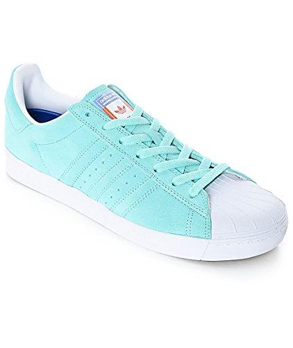 adidas Superstar Vulc ADV CG4840 - Pastel Blue - US Mens 4.5