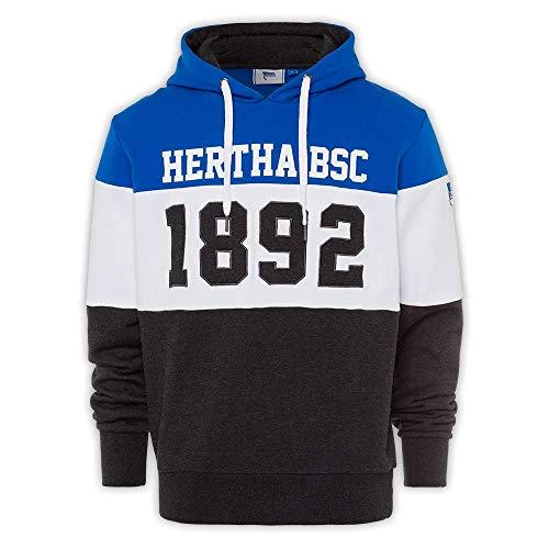 Hertha BSC Hoodie 1892 Melange (M)