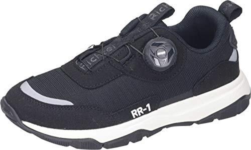 Richter Kinderschuhe RR-1 7516-8172 Laufschuh, 9900black/reflective, 41 EU