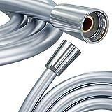 PRISMA Manguera de ducha de alta calidad, 125 cm, con doble protección contra torsión, fabricada en Alemania, conector universal G1/2'