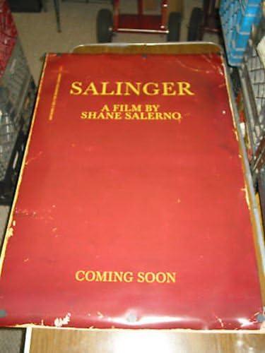 SALINGER ORIG. U.S. ONE SHEET POSTER Japan Maker discount New MOVIE DOCUMENTARY TEASER