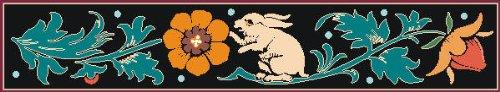 Indigos 4051719713190 Muurtattoo MF109 konijntje haas vogel ornament tribal plant 80 x 14 cm