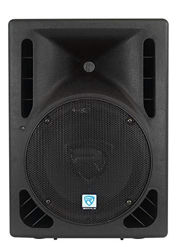 Rockville RPG10BT 10' Powered 600W DJ PA Speaker BlueTooth, USB, SD, Remote