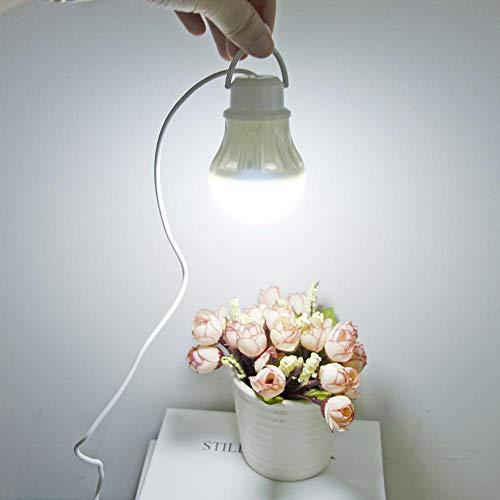 Campinglamp, draagbare campinglamp, USB 5 W/7 W, powerbank, kampeeruitrusting, 5 V led, voor tenten, camping, wandelen, USB-lamp