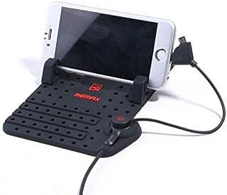 قاعدة مزودة بشاحن USB سريع الشحن باطار مغناطيسي قابل للضبط لهواتف ايفون
