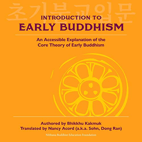 Introduction to Early Buddhism audiobook cover art