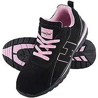 Reis BRARGENTINA38 - Calzado de seguridad, talla 38 (Alemania), color negro y rosa