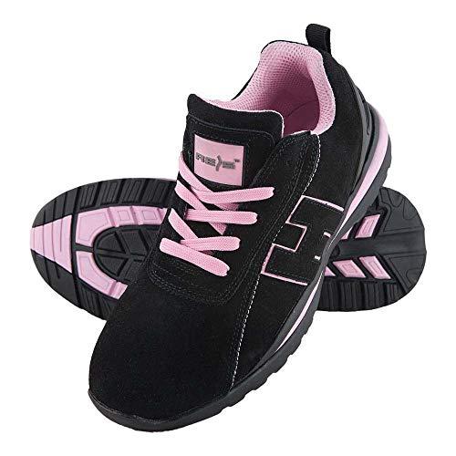 REIS BRARGENTI39 - Zapatillas de deporte (talla 39), color negro y rosa