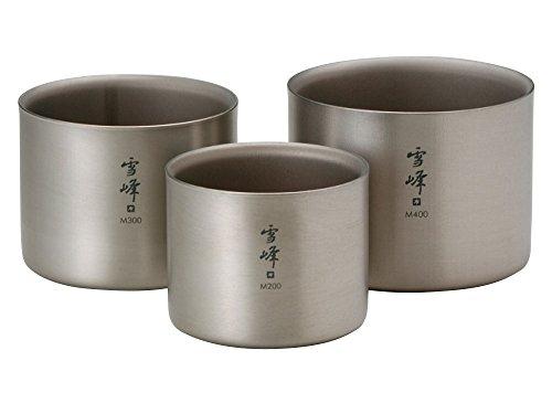 Snow Peak Titanium Stacking Mug Double Wall Ware Combo Sets TW-136