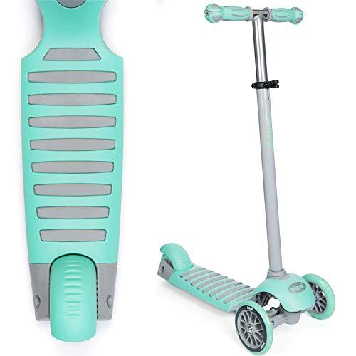 boppi Kinder-Tretroller mit 3 Rädern - Grün