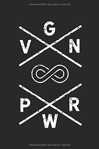 VGN PWR: Veganer Notizbuch