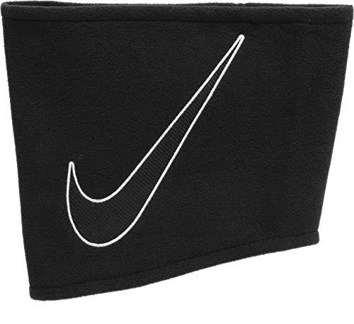 Nike - Scaldacollo unisex in pile, taglia unica, colore: Nero