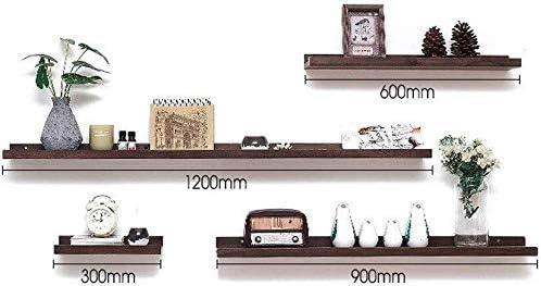 Jacksonville Mall Floating Shelves Solid Wood Living Backgro Shelf Room Wall Super intense SALE
