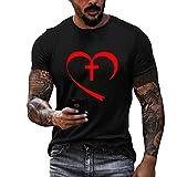 XDJSD Camisas Polo para Hombre Camisetas Cortas Camisetas para Hombre De Manga Corta Camisetas De Color Sólido De Marca De Moda Camisetas Casuales Cuello Redondo Camisetas Impresas En Color Sólido