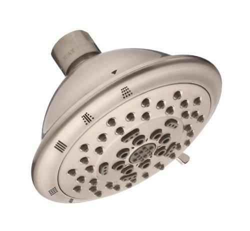 "DANZE D460036BN Florin 4 1/2"" 5 Function Showerhead 2.5gpm Brushed Nickel"