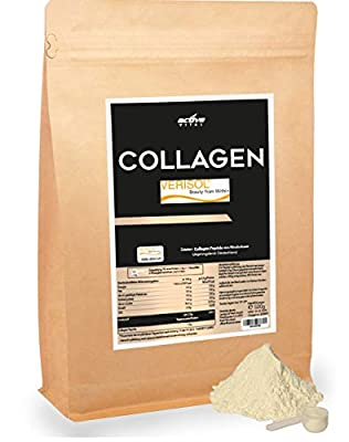 Collagen Hydrolysate VERISOL 500g Neutral - 200 Day Store Anti-Aging Anti-Wrinkle Anti-Cellulite Young Skin Nail Health 100% Type 1 Collagen Protein Powder from Germany by Activevital