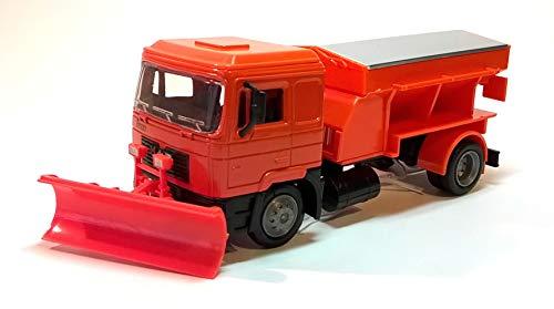 New-Ray Toys Mann F2000 schnepflug und Streuwagen Kunststoff Modell Lastwagen