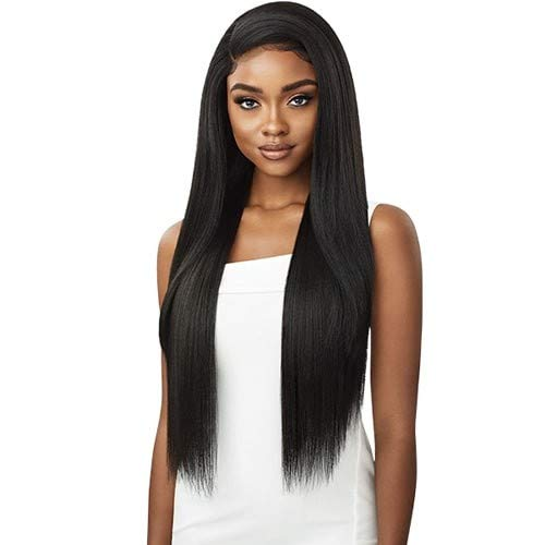 """Outre Perfect Hairline Synthetic 13x6 Lace Wig - SHADAY 32"""" (1B Off Black)"""