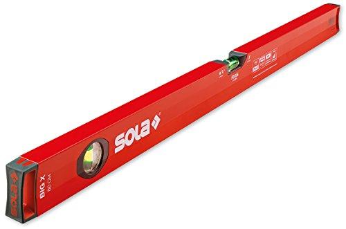 Sola Big X – precisie aluminium extra sterk 120 cm met 3 libellen, focus