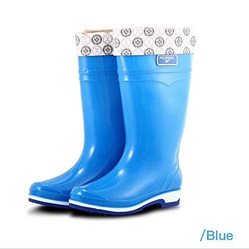 HRFHLHY regenlaarzen met hoge hakken, vrouwelijke regenlaarzen, antislip peesbodem antislip laarzen