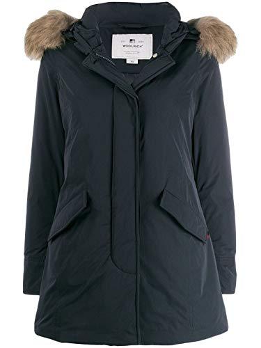 WOOLRICH Fashion Womens WWCPS2833UT0573324 blauwe bovenkleding jas |