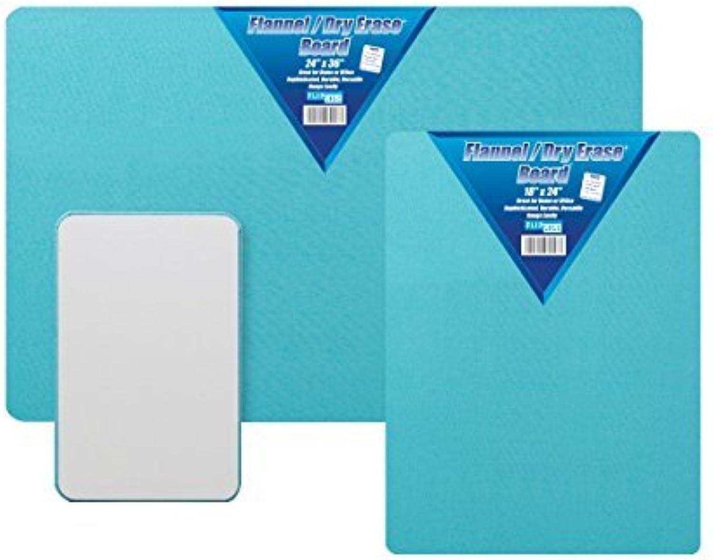 FLANNEL DRY ERASE BOARD 24 X 36 by Flipside