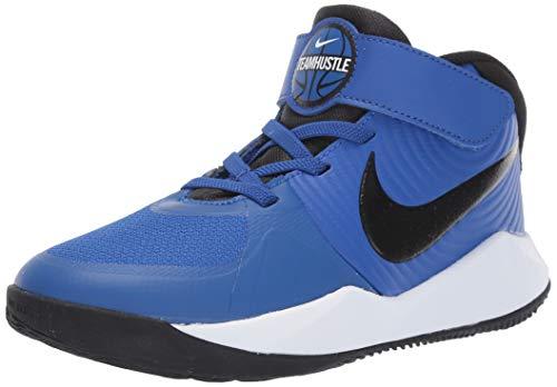 Nike Unisex-Kid's Team Hustle D 9 (PS) Sneaker,...
