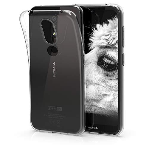 kwmobile Hülle kompatibel mit Nokia 4.2 (2019) - Handyhülle - Handy Hülle in Transparent