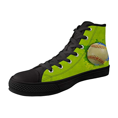 MODEGA Le Football Impression Chaussures Montantes Chaussures De Toile D
