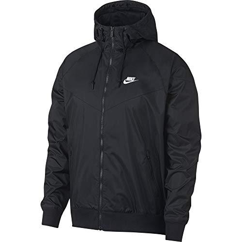 Nike M NSW He WR JKT HD Veste de Sport Homme Black/Black/Black/(Sail) FR: XL (Taille Fabricant: XL)