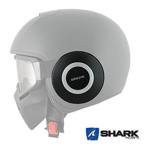Shark RAW Motorrad Helm Ersatz Abdeckplatten - Matt KMA - PAAR