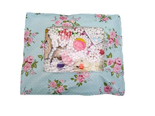 Womens Squishy Rummage Pouch, Fidget activity toy for seniors Sensory mat