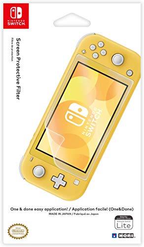 HORI One & Done Bildschirmschutzfolie für Nintendo Switch Lite [