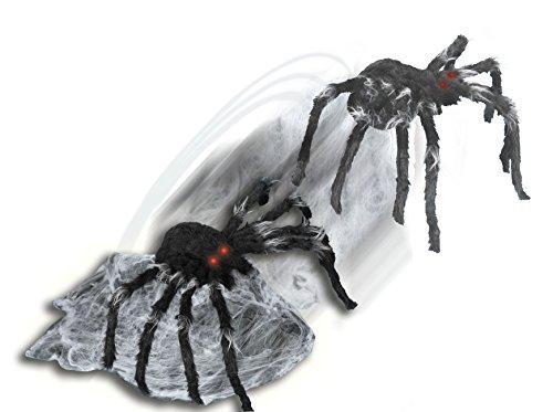 Spirit Halloween 21 Inch Black Jumping Spider Animatronic