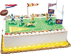 Cake Decorating Kit CupCake Decorating Kit (Touchdown Foot Ball Kit)