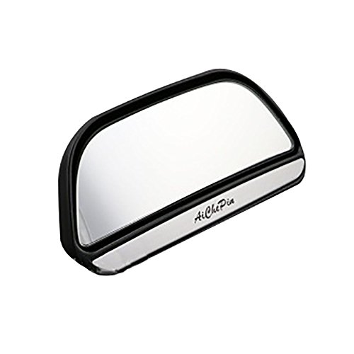 Dosige Toter Winkel Spiegel fixiertes Modell Toter Winkelspiegel Blindspiegel Hilfsspiegel 1pc Weiß