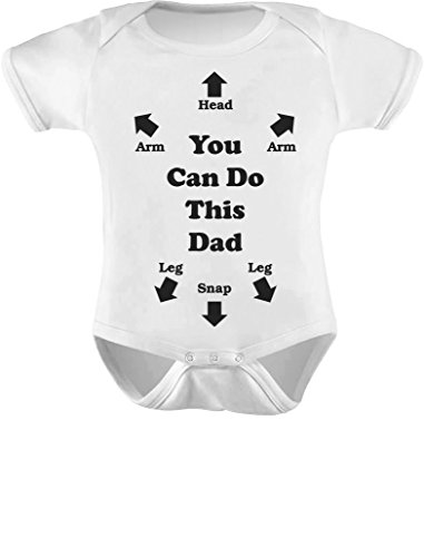 Product Image of the Tstars You Can Do This Dad Outfit Funny Gift for New Dads Cute Baby Boy Girl...