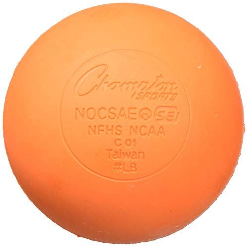 Champion Sports Official Lacrosse Balls-Pack