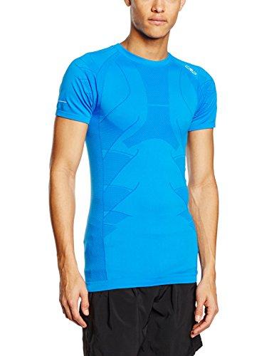 CMP T-Shirt de Course Running XXL Bleu - Vela