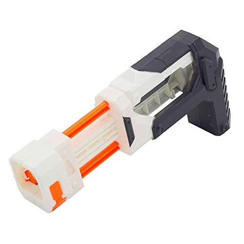 SHI-Y-M-GJ, Accesorios Plegables universales de Pistola de Juguete de Culata for Nerf N-Strike Elite Series (Color : Orange)