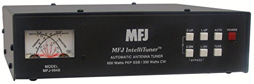 MFJ Enterprises Original MFJ-994B 1.8 ~ 30 MHz Automatic Antenna Tuner 600 Watts SSB/CW IntelliTuner w/ SWR/Watt Meter.. Buy it now for 349.95