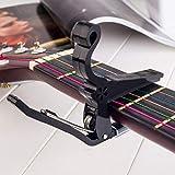 ABS Guitar Tuner Clamp Professional Key Trigger Capo for Instruments de musique acoustique électrique Hot Vente Dropshipping