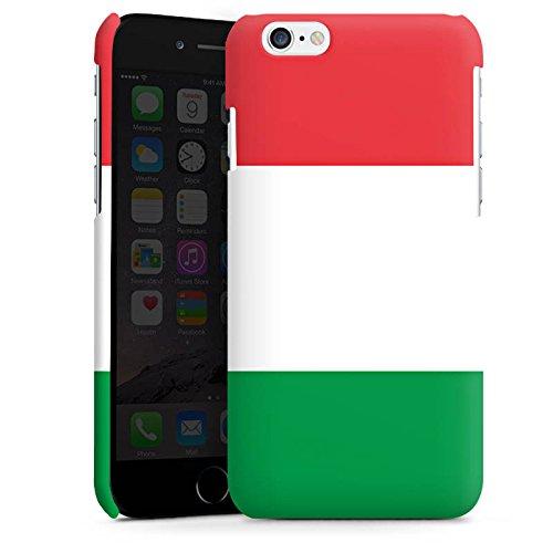 DeinDesign Custodia Premium Compatibile con Apple iPhone 6 Plus Cover per Smartphone Custodia Opaca Italia Bandiera Bandiere