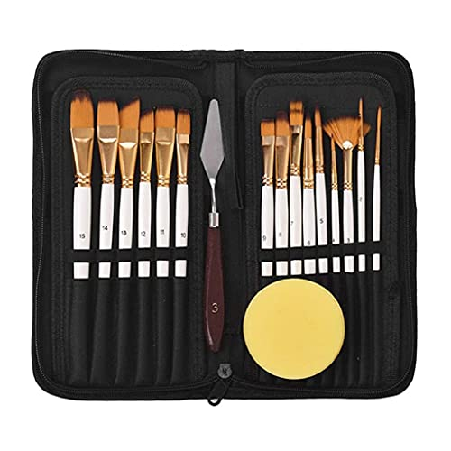 ZMDZA Paint by Numbers Brushes Acrylic Oil Watercolor Picture Painting Picture Art Pens Drawing Supplies Drawing Tools Set