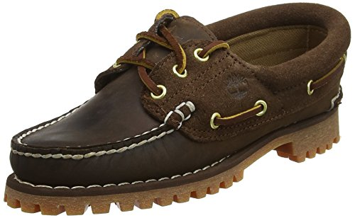 Timberland Damen Noreen 3 Eye Handstitched Bootsschuhe, Braun (Potting Soil Saddleback With Suede 931), 38 EU
